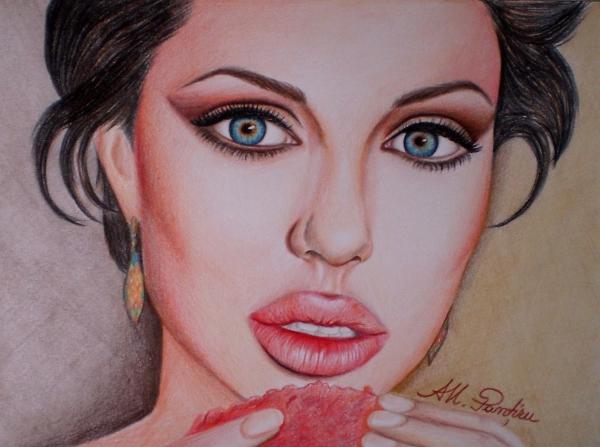 Angelina Jolie by Ana-Maria